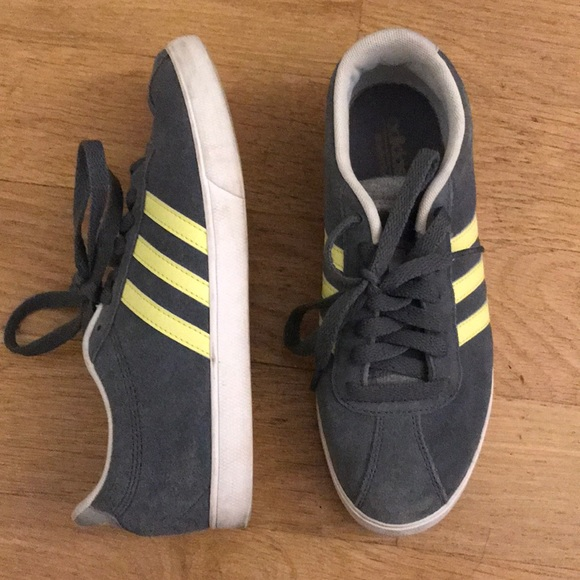pretty nice e93c8 a6e68 Adidas NEO grey and yellow sneakers. M 5b54efaffb380362b0f225eb